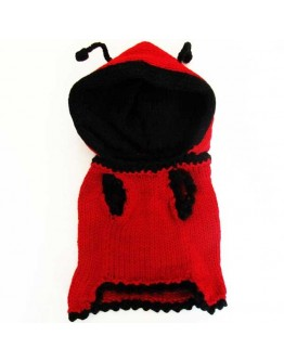 Ladybug Dog Costume - With Hood