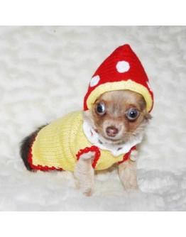 Mushroom Dog Costume