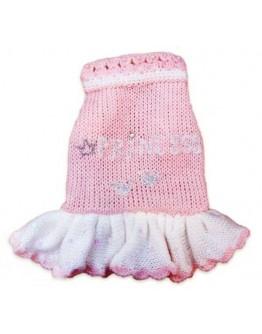 """Pink Dog Dress """"Princess"""""""