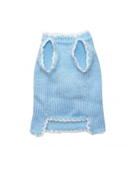 Blue Dog Sweater for Boys with Mickey Mouse