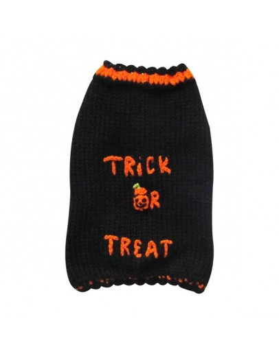 Halloween Dog Sweater - Trick Or Treat